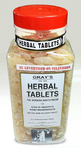 P61 JAR GRAYS HERBAL 2.72KG